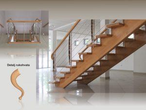 Izrada samonosivih stepenica