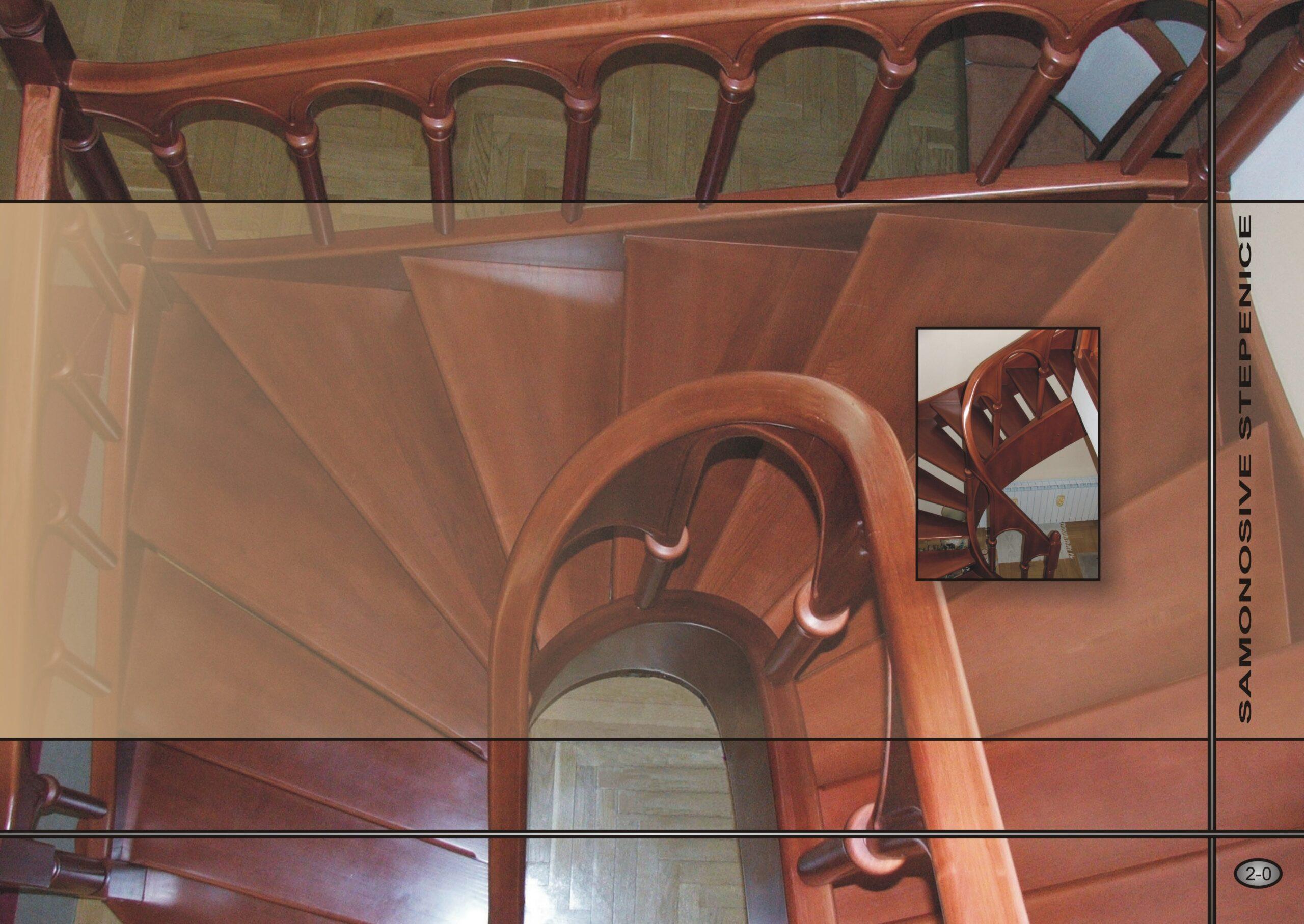 Samonosive stepenice - katalog