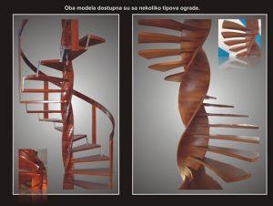 Izrada spiralnih stepenica - Enterijer Sremska Kamenica