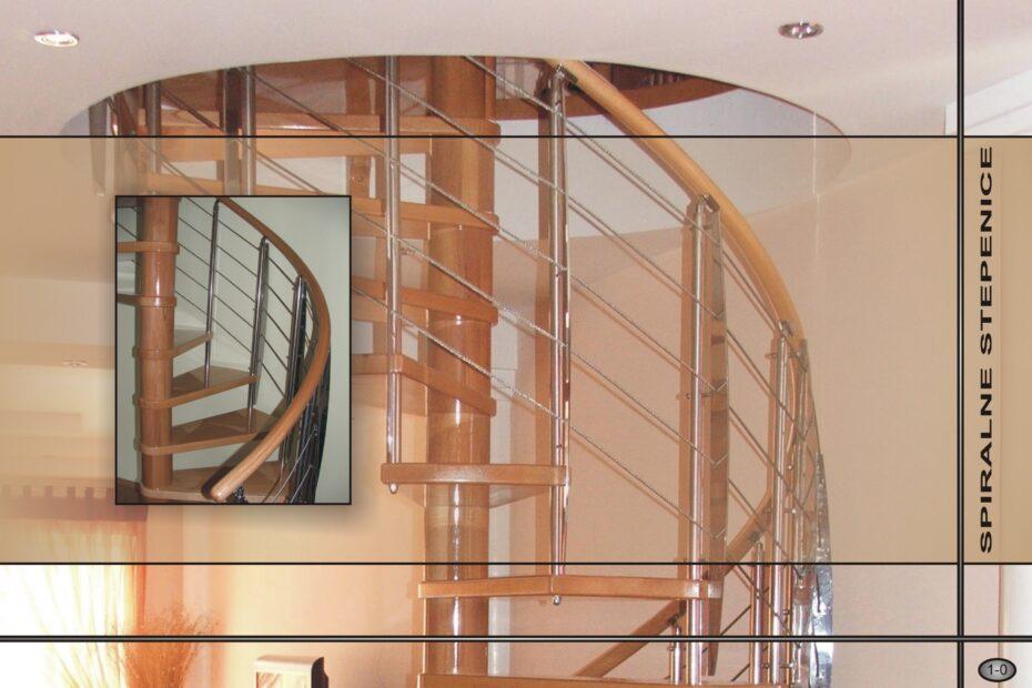 Spiralne stepenice - katalog - Enterijer Sremska Kamenica