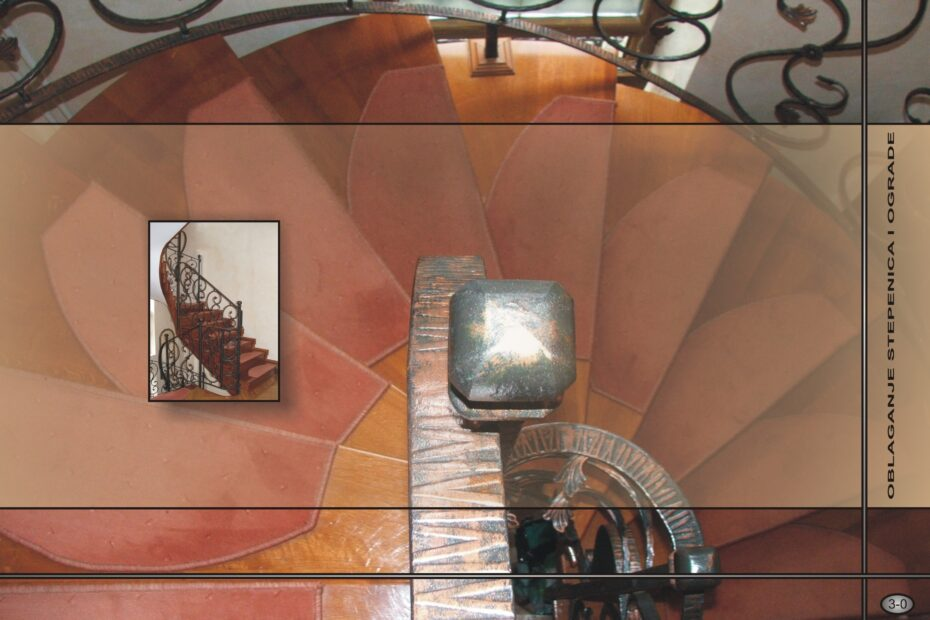 Oblaganje stepenica - katalog