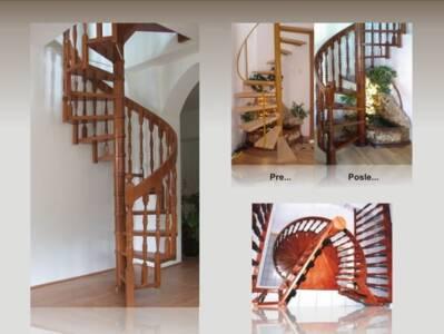 Spiralne stepenice 7