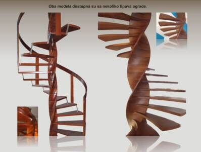 Spiralne stepenice 9